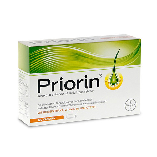 [프리오린] 탈모 영양제 120 캡슐