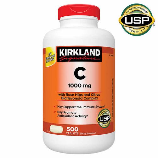 커클랜드 비타민C 1000mg (500정)