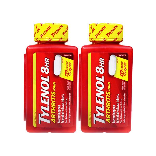 [타이레놀] 관절염 진통제 650mg (290정) 1+1
