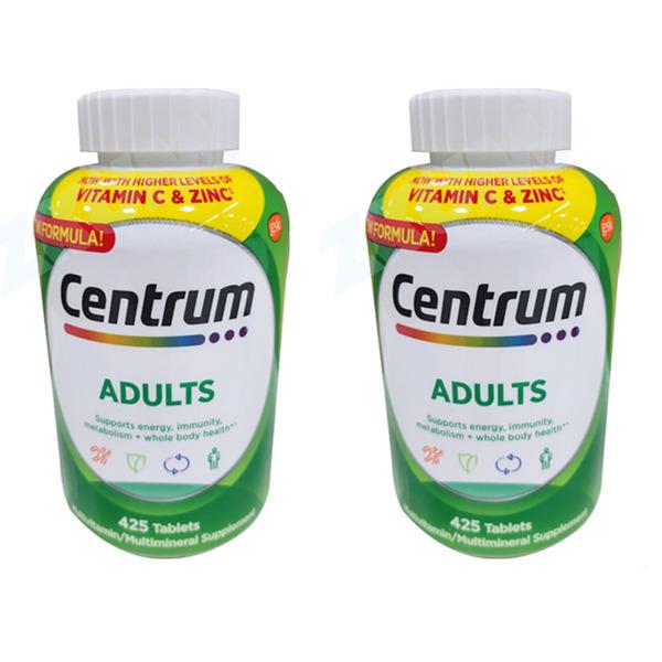 센트룸 성인 남여공용 종합비타민/ 425정(2개세트)