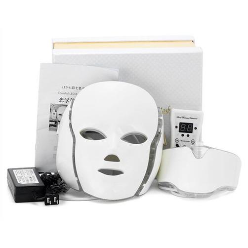 얼굴부터 목까지 케어! 7컬러 LED 마스크팩