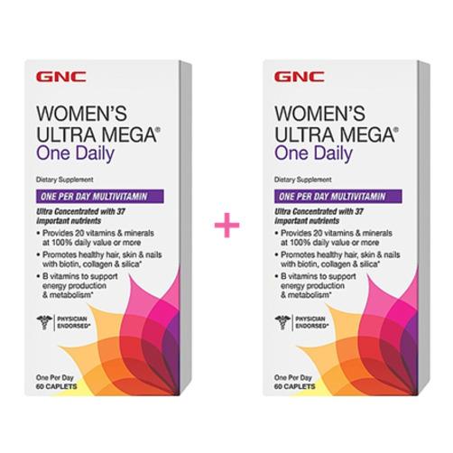 [GNC] 여성용 종합 비타민! 영양제!  ULTRA MEGA® One Daily   1+1